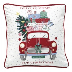 Driving home for Christmas tyynynpäällinen, 40*40 cm